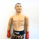 Boxing Prince Naseem Hamed unproduced prototype testshot hand painted full figure